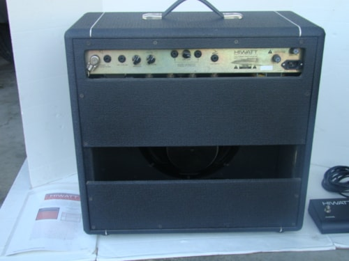 1998 Hiwatt DC-40 Bulldog (4-EL84's) (USA Made)(one of 6)