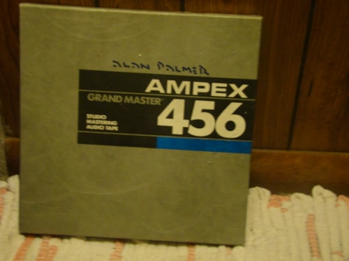 "1992 Ampex Studio Mastering Audio Tape (456/Grand Master/10"")"