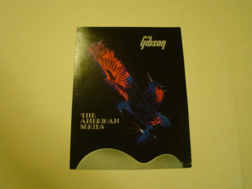 1986 Gibson American Series Pamphlet