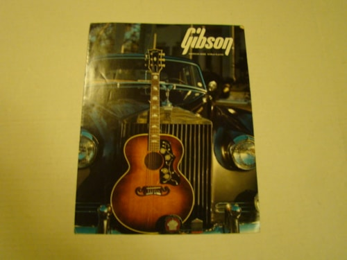 1986 Gibson Acoustic Pamphlet