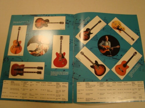 1986 Gibson Rock On Guitar Catalog