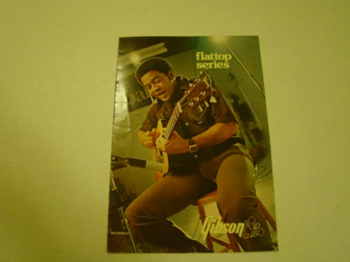 1975 Gibson Flat Top Pamphlet