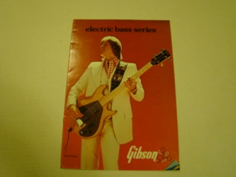 Gibson Bass Pamphlet/ LARGE!