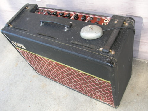 1964 VINTAGE 1964 VOX AC30 AMP w/ COPPER PANEL & CELESTION SILVER AC 30