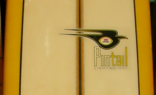 1968 Bing lightweight pintail