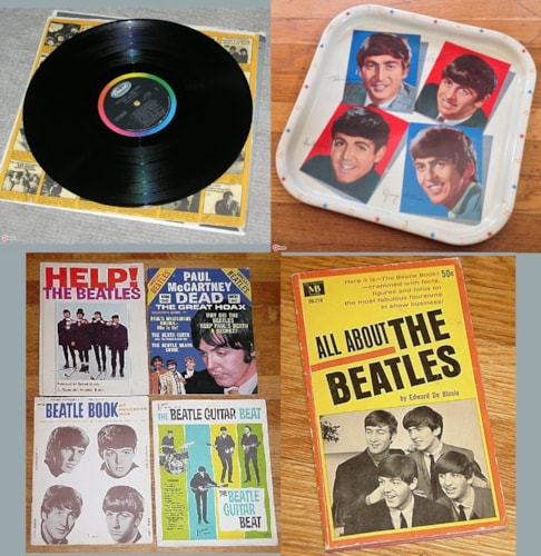Beatles, Capitol Records, etc etc Beatles collectibles