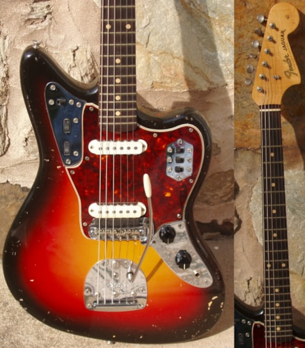1962 Fender® Jaguar® A NECK Slab board