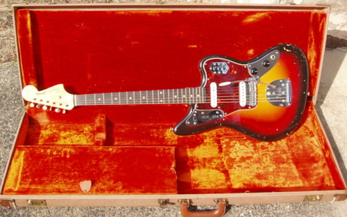 1962 Fender Jaguar® A NECK Slab board