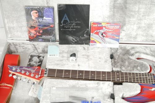 Ibanez JS 20th Collectors Edition Silver Surfer Guitar