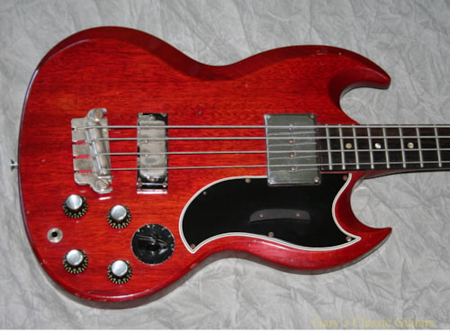 1964 Gibson EB-3 Cherry Red (#GIB0207)