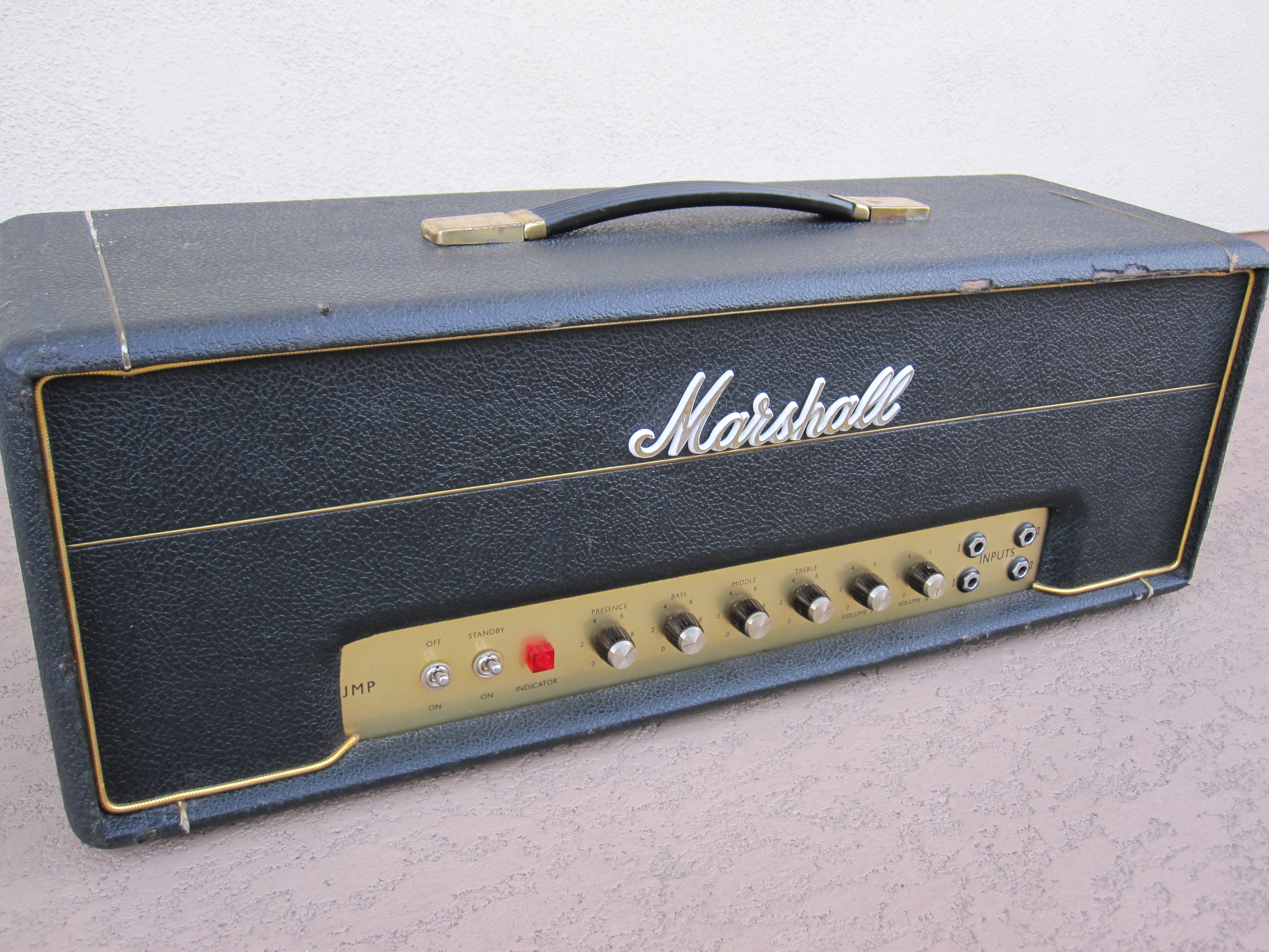 1969 Marshall 50W VINTAGE PLEXI 50W AMP AMPLIFIER > Amps