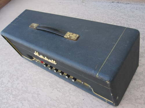 1969 VINTAGE MARSHALL 50W SMALL BOX 1987 PLEXI AMP AMPLIFIER
