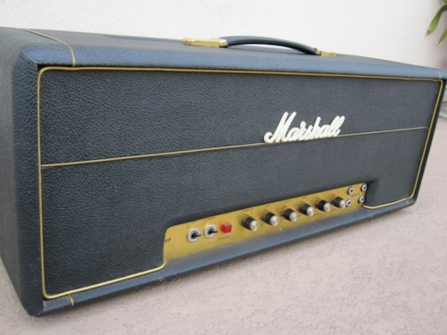 1970 1970 VINTAGE MARSHALL 100w SUPER LEAD AMP PLEXI AMPLIFIER 1959