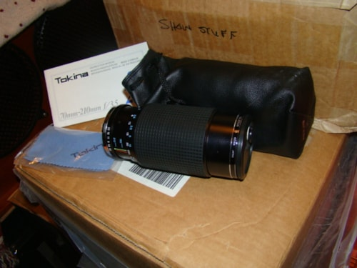 1980 Tokina Zoom Camera Lens (SB 210)