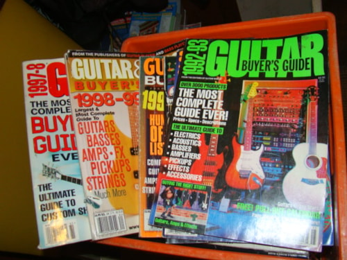 1988 Guitar Buyer Guides