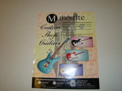 2001 Mosrite Custom Shop Flyer