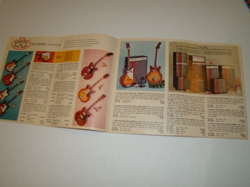 1970 Harmony Gifts of Music Catalog/harmony guitars&amps/Hohner/Jordan