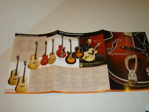 2004 Guild® Catalog Flyer