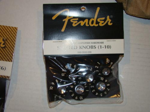 2009 Fender® amp knobs/on hold!!
