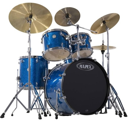 Mapex Horizon 5 piece Drum Kit w/Hardware