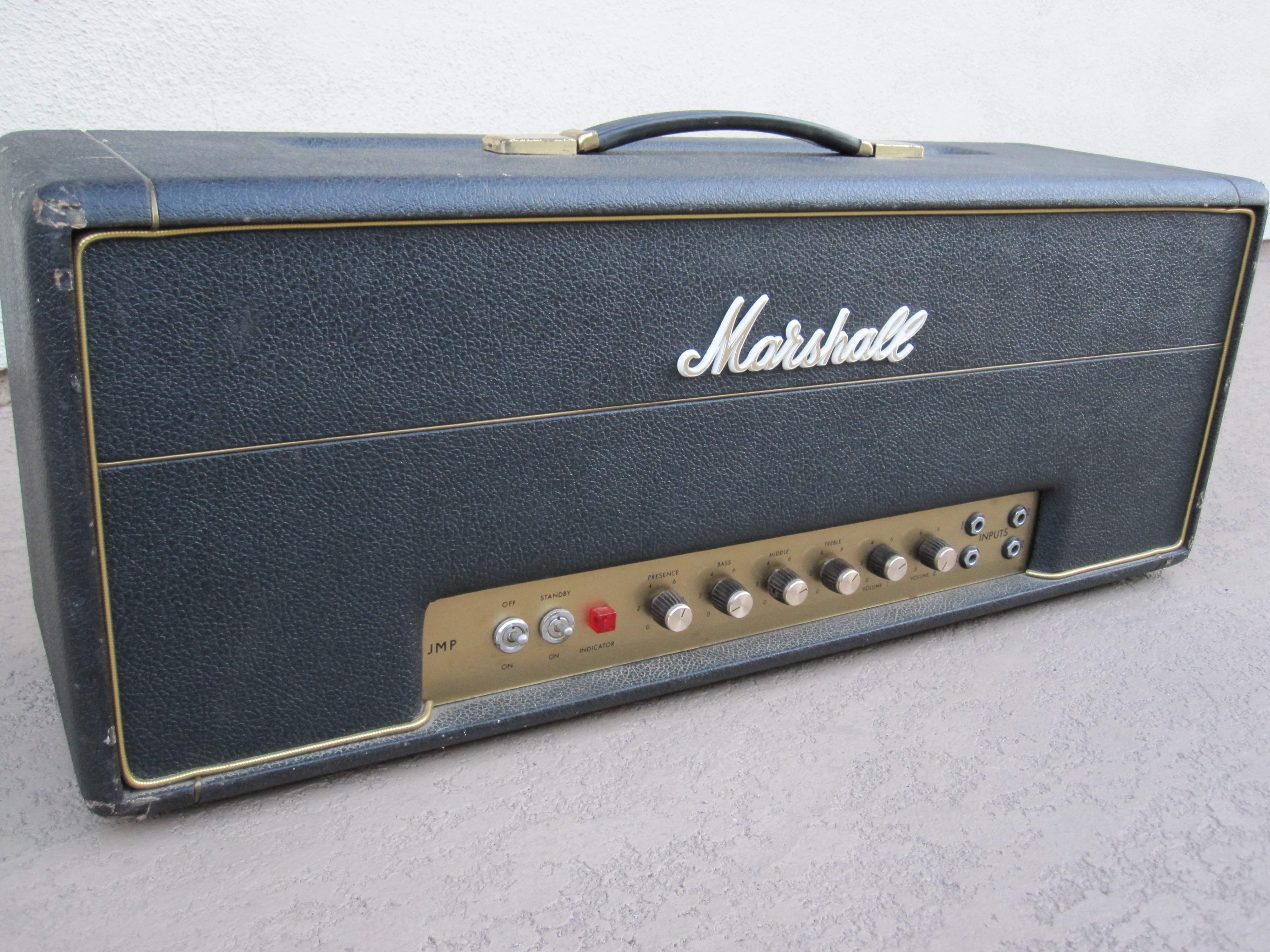 1970 Marshall VINTAGE 100w SUPER LEAD AMP AMPLIFIER > Amps