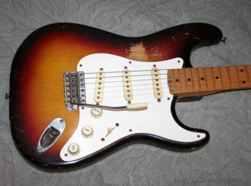1958 Fender Stratocaster, Sunburst (#FEE0274)