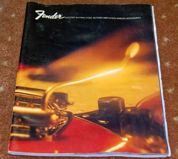 Unknown 70's Fender® Catalog