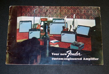 1964 Fender® Blackface Amp Warranty Card