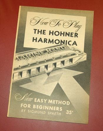1959 Hohner 1959 Hohner Harmonica how-to book