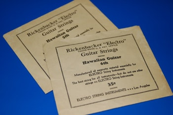 1966 Rickenbacker 1966 Rickenbacker Electro guitar string envelopes