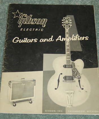 1959 Gibson Original March 1959 Gibson Catalog