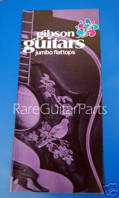 1970 Gibson This 1970 Gibson Guitars Jumbo Flattops Pamphlet