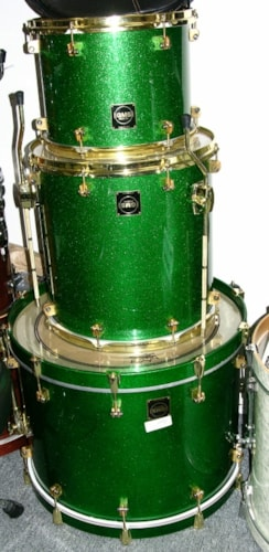 GMS custom 3 pc. drum set