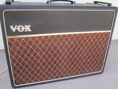 1963 Vox VINTAGE AC30 AMPLIFIER COPPER PANEL AMP w/ SMOOTH TOLEX