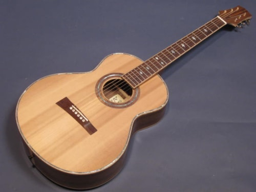 E & S Acoustics (Brent Gilligan) 00-13 Fret Black Walnut / Cedar