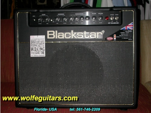 2014 BLACKSTAR HT- Club 40