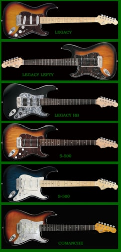 2015 G&L Many to choose from