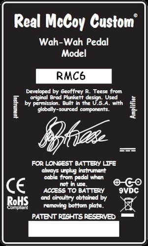 RMC RMC 6/Wheels of Fire