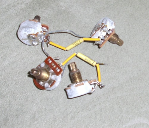 1974 Gibson Les Paul Wiring Harness