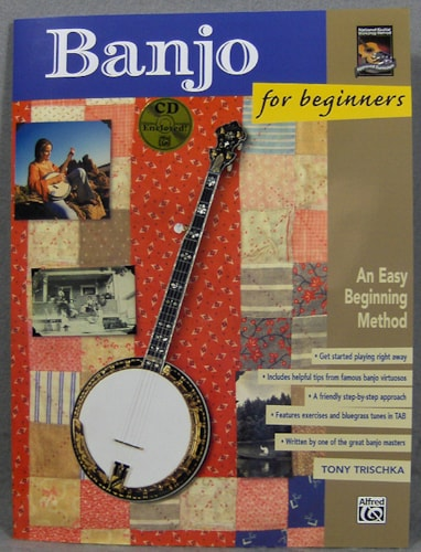 Alfred Publishing Banjo For Beginners