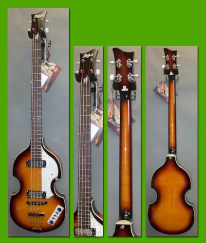 2012 HOFNER Icon Series HI-BB Ignition Bass