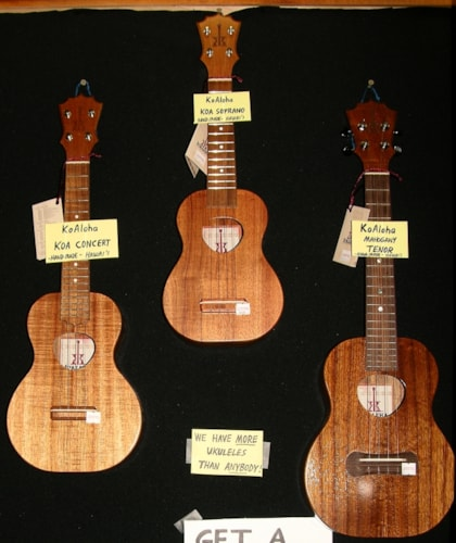 2016 Koaloha  Ukes All models