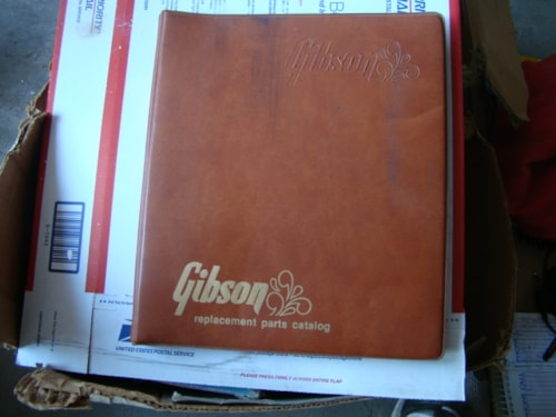 1977 Gibson Replacement Parts Catalog