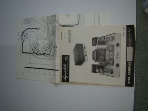 1968 Dynaco Stereo 70 Instructional Manual