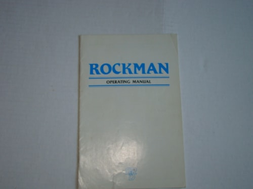 1985 Rockman EQ Operating Manual