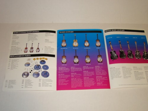 1994 Dobro Catalog & Price List