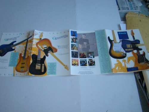 2000 Blade Guitar Catalog - Laminated