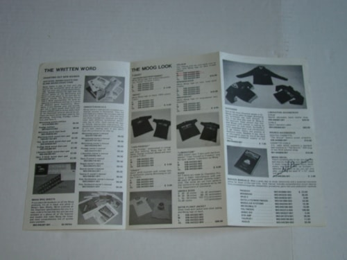 1975 Moog Software & Accessories Catalog