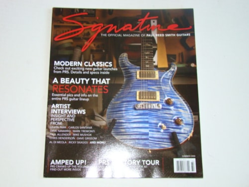 2008 Paul Reed Smith Summer Magazine/Catalog