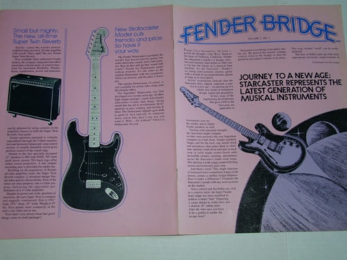 1978 Fender Bridge Magazine Volume #1